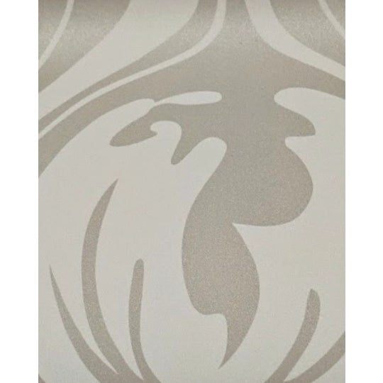 Abstract Neutral Organic Patterned Wallcovering For Sale - Image 3 of 3