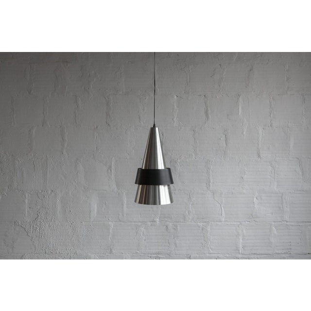 Mid-Century Modern Corona Pendant Hanging Lamp For Sale - Image 3 of 4