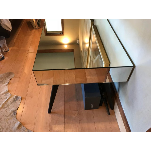 Contemporary Julian Chichester Three Drawer Console Table For Sale - Image 3 of 6