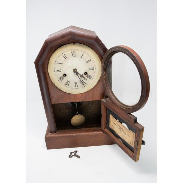 New Haven Clock Co. Mantle Clock For Sale In Nashville - Image 6 of 12