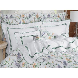 Wisteria Lane 2014 Duvet Cover Lavender in Full For Sale
