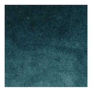 Amsterdam Teal Velvet - 1 Yard For Sale