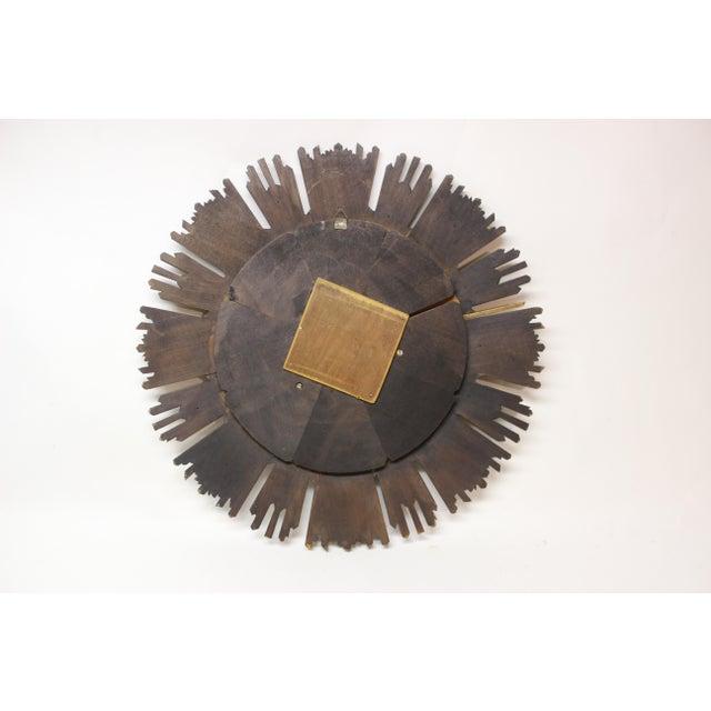 Gilt Sunburst Convex Mirror For Sale In New York - Image 6 of 7