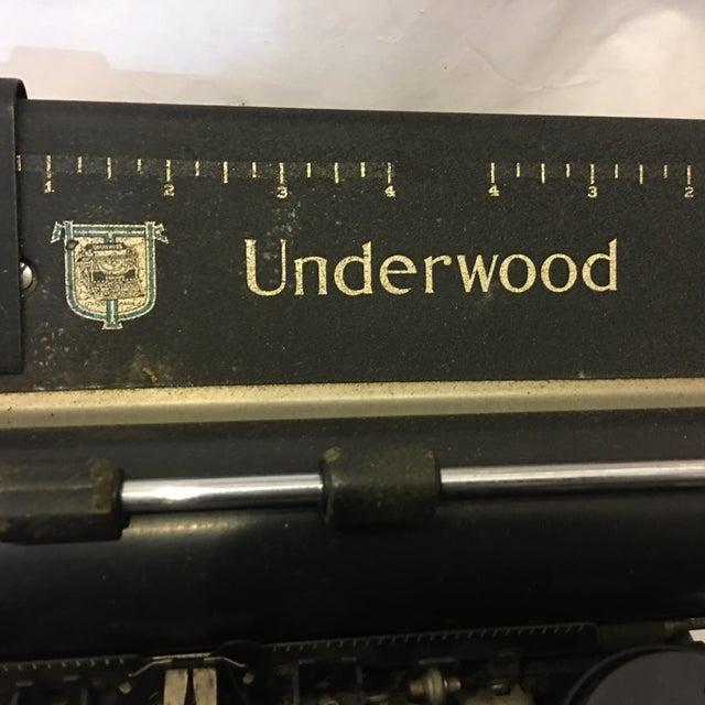 Vintage Underwood Standard Typewriter - Image 8 of 10