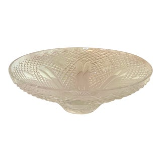 "Masterfully Cut Waterford Centerpiece Bowl - 12"" For Sale"
