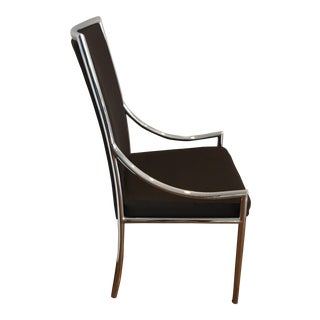 Pierre Cardin Chrome Desk Chair