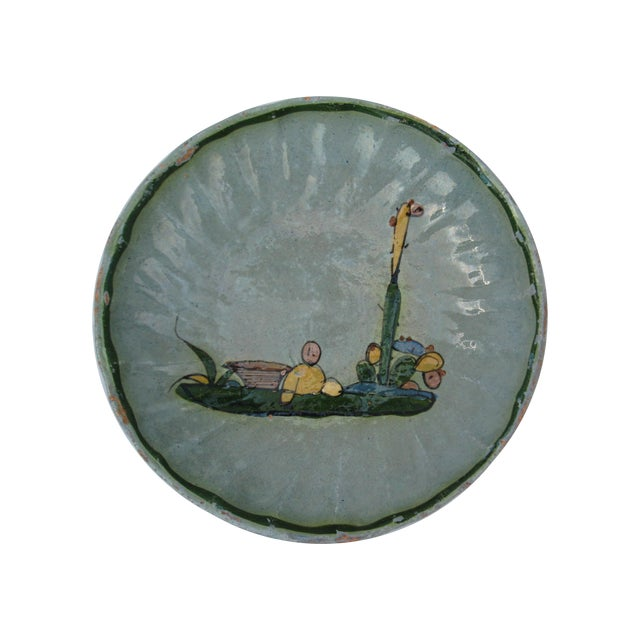 Hand Painted Mexican Plate - Image 1 of 7