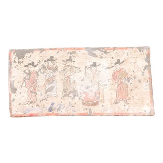 Musical Liao Dynasty Style Mural Tile For Sale