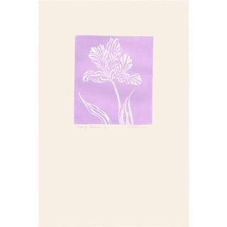 """Groovy Flowers Iv"", Original Etching by Anita Klebanoff For Sale"