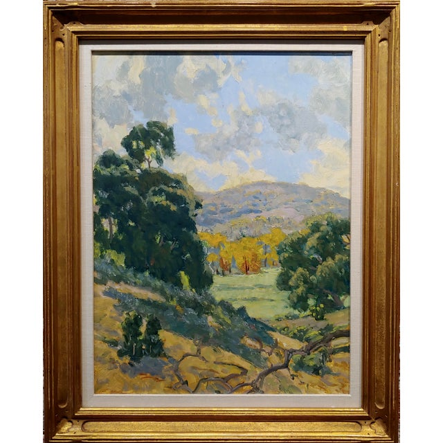 Rodolfo Rivademar - From the WIlderness South of the 71 Fwy- California Oil painting oil painting on board - Titles and...