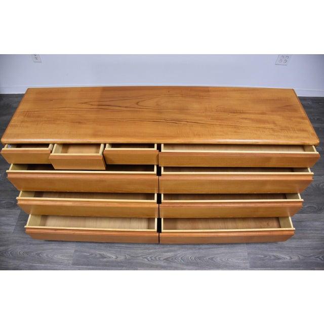Danish Modern Teak Dresser by Nordisk Andels-Eksport For Sale - Image 10 of 12