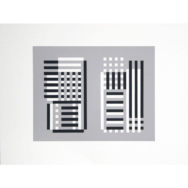 "Josef Albers ""Portfolio 2, Folder 11, Image 1"" Print For Sale"