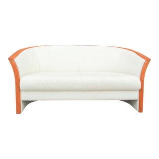 Leather Ekornes Sofa For Sale