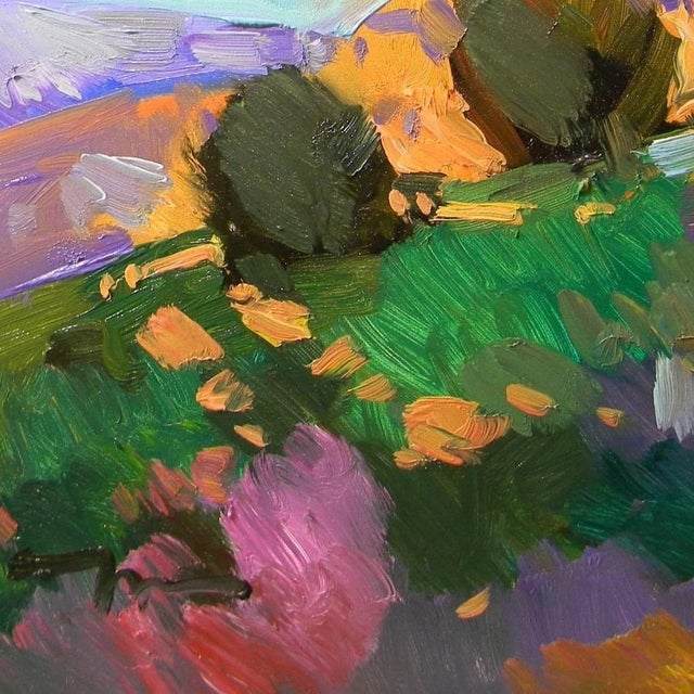 Jose Trujillo Contemporary Landscape Oil Painting For Sale - Image 4 of 4