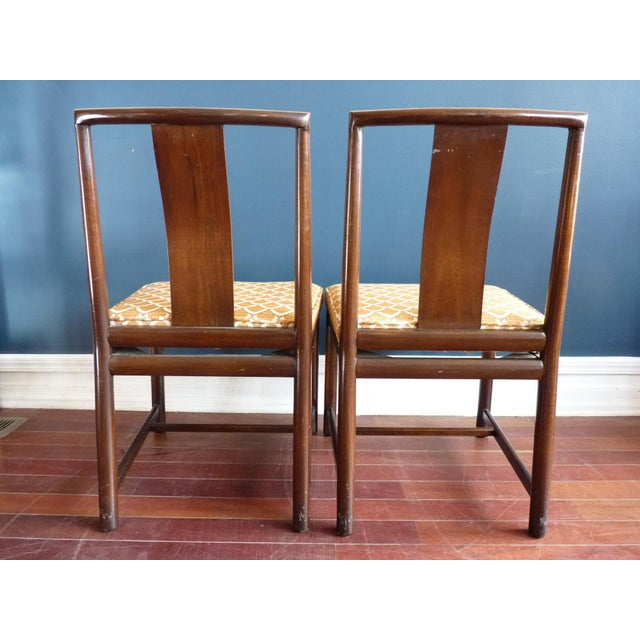 Asian Inspired Dining Chairs - A Pair - Image 5 of 11