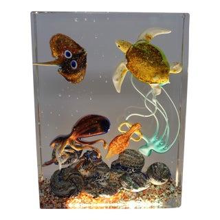 Murano Aquarium by Diego Costantini For Sale