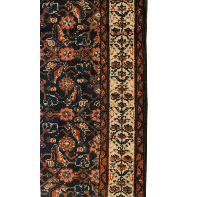 """Early 20th Century Persian Malayer Runner - 33"""" x 120"""" - Image 4 of 5"""