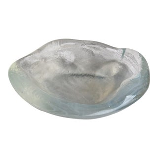 Opaque Glass Catchall or Ashtray For Sale