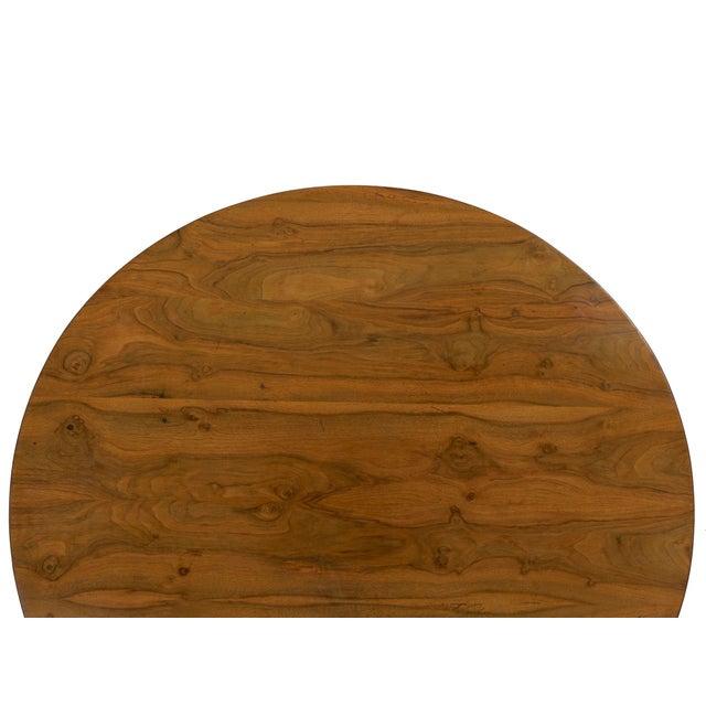 19th Century Austrian Biedermeier Walnut Antique Round Center Table For Sale - Image 10 of 13