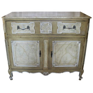 19th Century Painted Cabinet For Sale