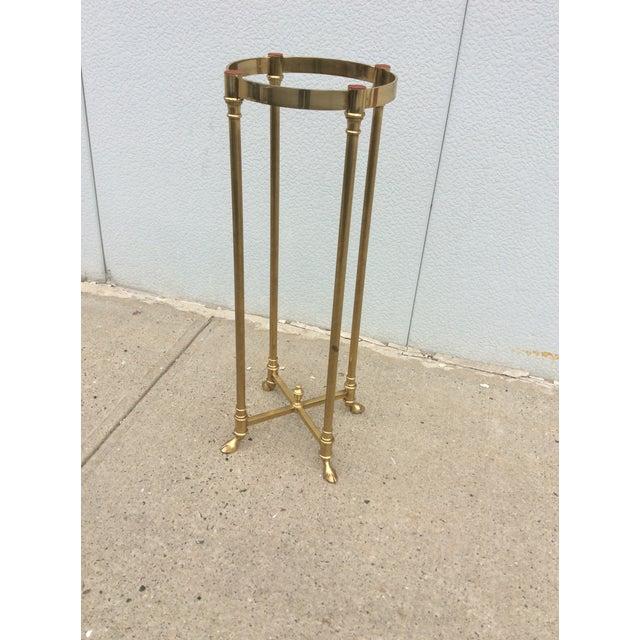 La Barge Italian Brass Pedestal - Image 7 of 11