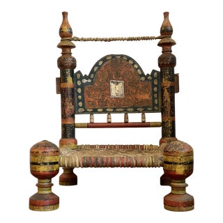 19th Century Traditional Tribal Chair For Sale