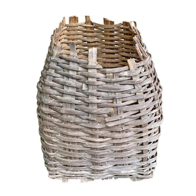 Rustic Large 19th Century American Nut Basket For Sale - Image 3 of 11