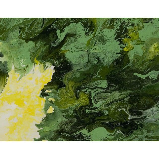 """""""Wild Lettuce"""" Original Painting - Image 2 of 3"""