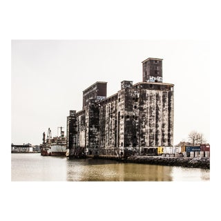 """The Port of New York Authority Grain Terminal"" Photograph For Sale"