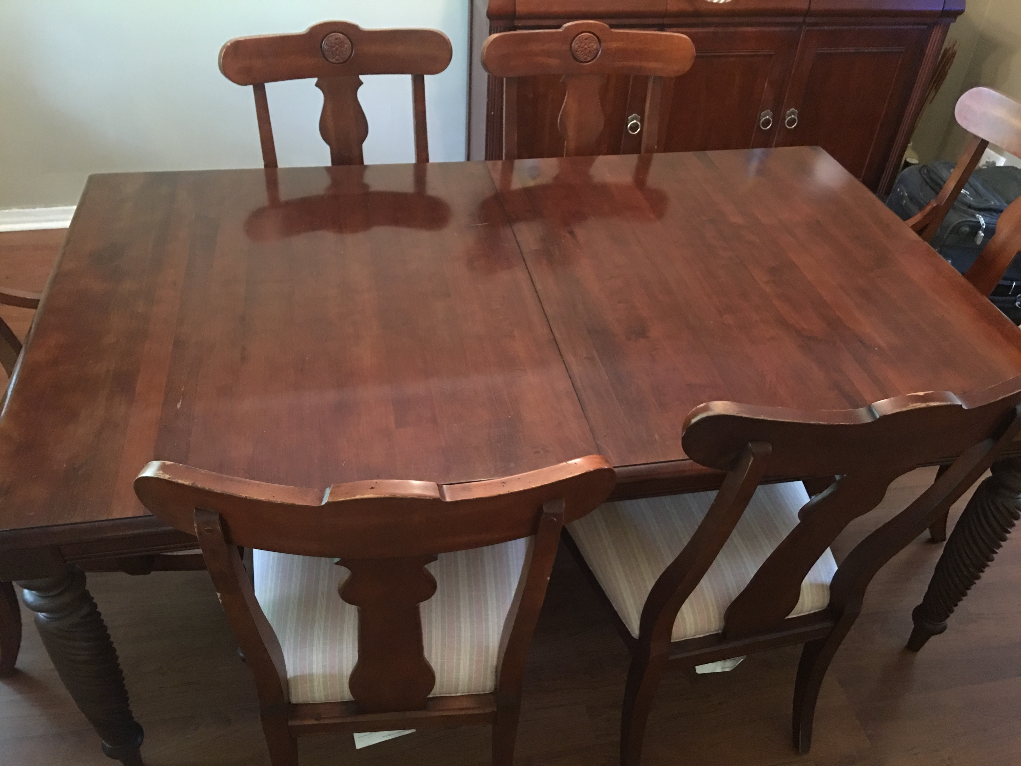 Wonderful 7 Piece Ethan Allen British Classic Dining Set   Image 8 Of 11