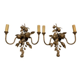 Pair of Frutteto Sconces by Ironies For Sale