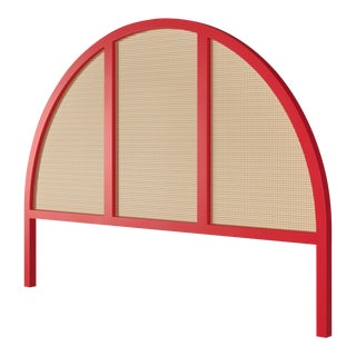 Eva Headboard - King - Bull's Eye Red For Sale