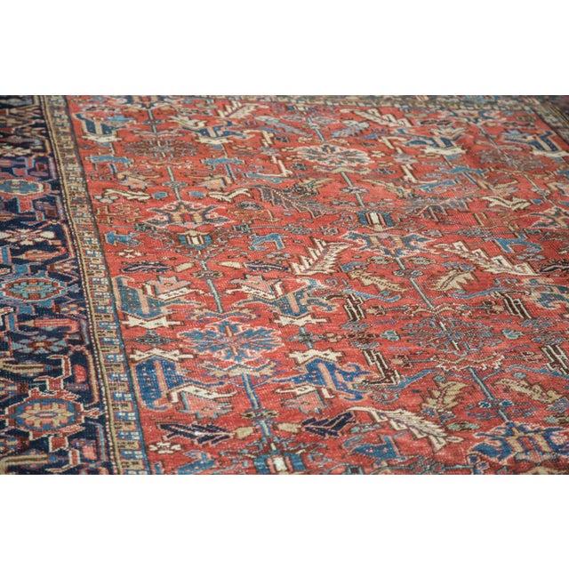 "Vintage Heriz Carpet - 7'6"" X 11'1"" - Image 3 of 10"