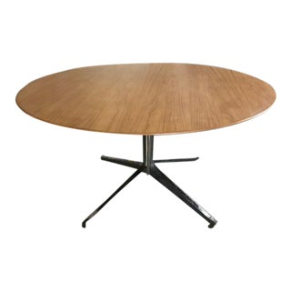 Florence Knoll Walnut Dining Table