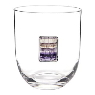 Elevo Champagne Bucket, Crystal & Amethyst For Sale