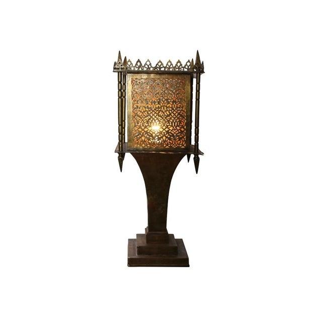 Brass Moroccan Style Lantern - Image 4 of 4