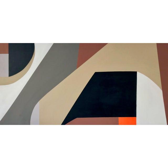 Tony Marine Mid-Century Inspired Painting For Sale