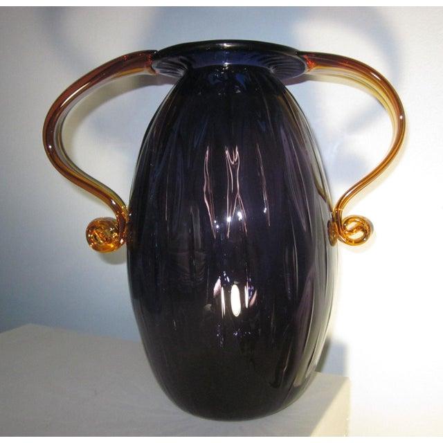 Blenko Art Glass Vase - Image 2 of 3