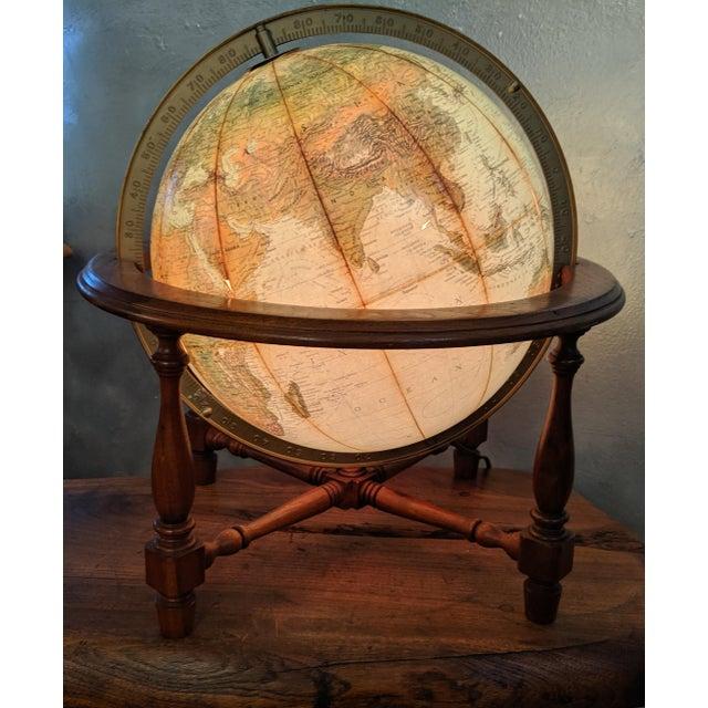 Mid-Century Modern Mid Century Modern Reploge Globe Table Lamp For Sale - Image 3 of 6