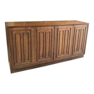 Mid Century Modern Broyhill Sculptra Buffet/Sideboard For Sale