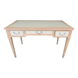 "Louis XVI Style Writing Desk ""Peaches and Cream"""