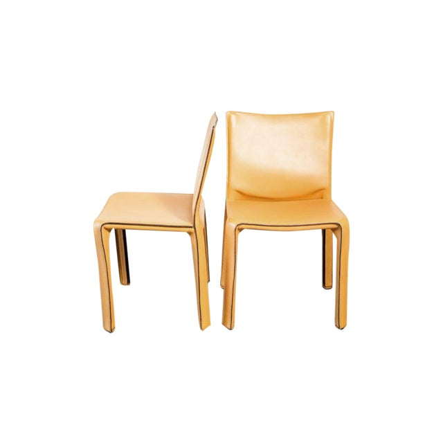 Cassina Cab Dining Chairs - Set of 4 - Image 1 of 5