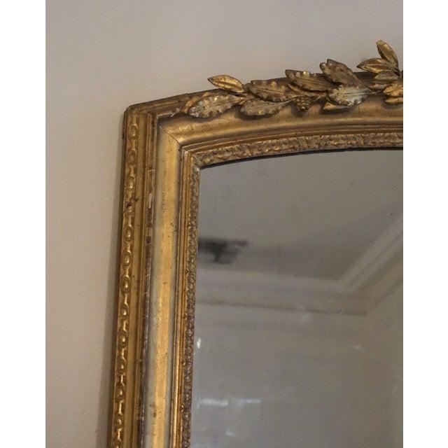 19th Century Louis XV Trumeau Mirror