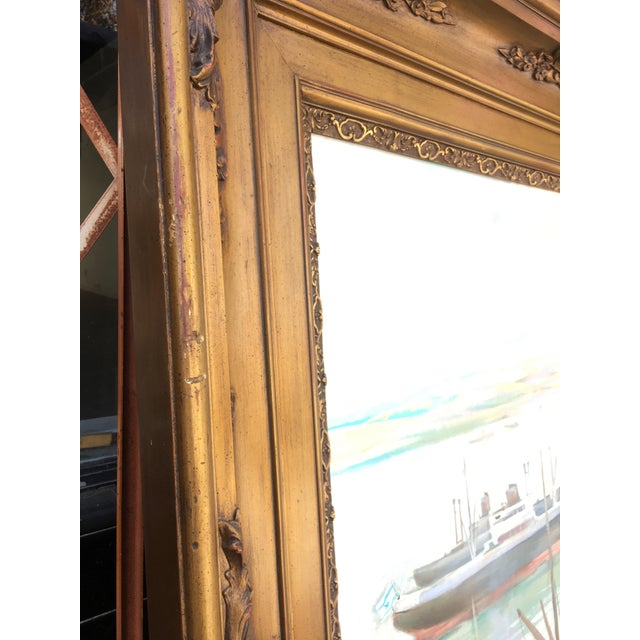 Vintage Victorian Picture Frame Painting For Sale - Image 9 of 13