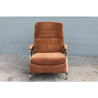 """Mid Century Modern Heavy Reclining Brown """"Barcalounger Longlife"""" Lounge Chair Preview"""