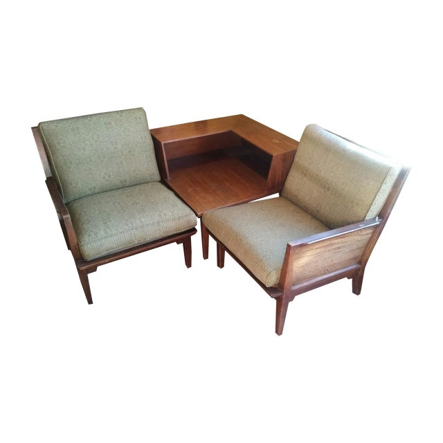 Drexel Mid-Century Seating Unit - Image 1 of 11