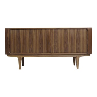 Walnut Danish Credenza by Bernhard Pedersen For Sale