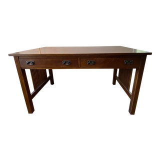 Stickley Mission Style Writing Desk For Sale