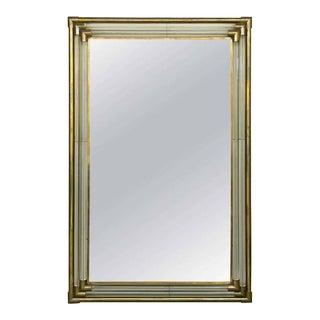 Three Tier Brass Mirror For Sale
