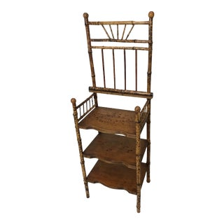 19th Century English Bamboo Stand For Sale